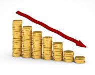 Calo prestiti bancari a famiglie e imprese