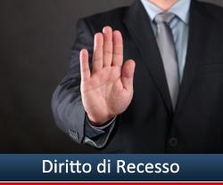 diritto recesso prestiti