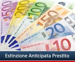 Estinguer Anticipatamente Finanziamento o Prestito