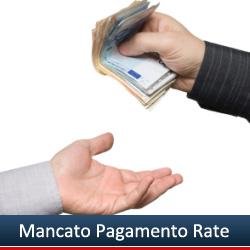 Ritardato o mancato pagamento rate prestito