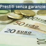 prestiti senza garanzia