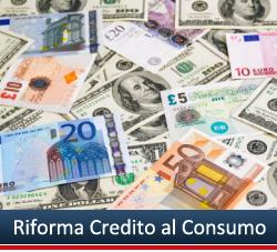 Riforma Credito al Consumo